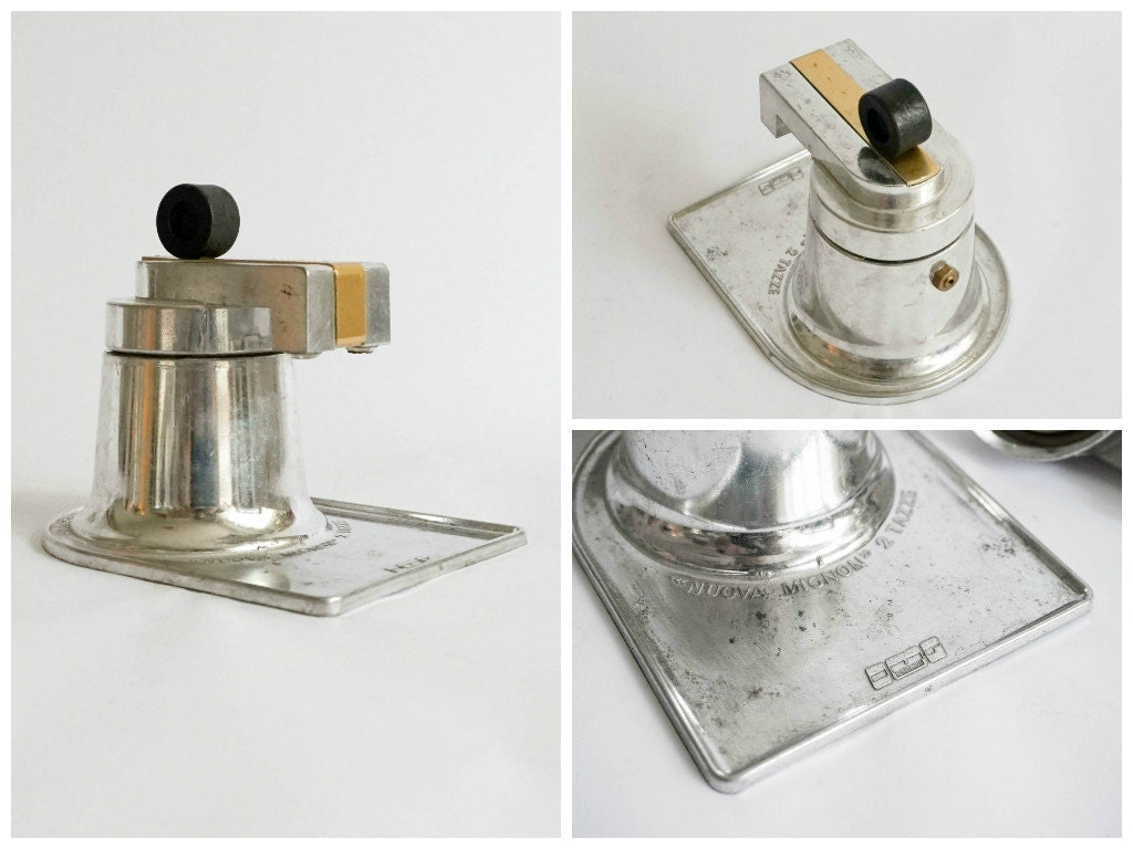 RESERVED Vintage Italian Coffe Maker Nuova Mignon 2