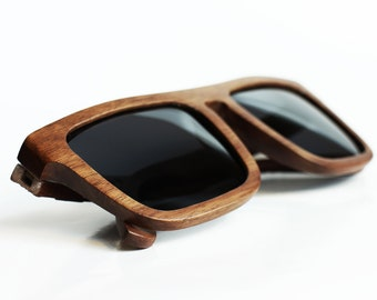 Walnut Wood Sunglasses from by WOODEER