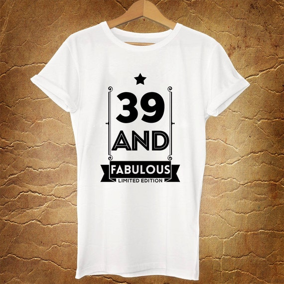 37 Unique Birthday Gifts For Her: 39th Birthday Gift 39 And FABULOUS 1977 39th By RoseeWebStore