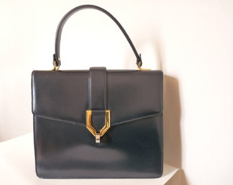 VIMAR - handbag vintage blue night