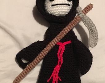 Crochet Grim Reaper Doll