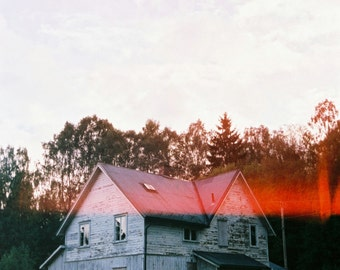 Haunted house, Oslo, Original 35mm photograph