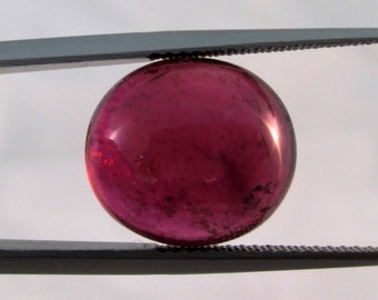 Rubelite Tourmaline, Pink Tourmaline, Cabochon Tourmaline, Natural Tourmaline, Loose Gemstone, Brazilian Gemstone, Precious Gemstone