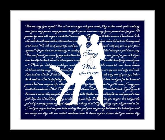 Wedding Present Box Elder Lyrics : Wedding song lyrics anniversary gift ideas, dancing couple ...