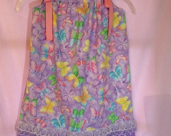 Shimmery Butterflies Dress