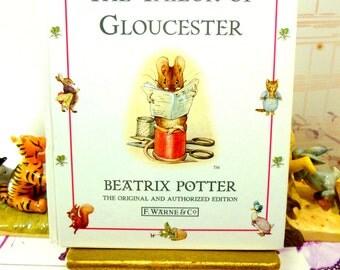 The Tailor of Gloucester Beatrix Potter Beautiful Illustrations Vintage Hardback Book 1st Edition Thus