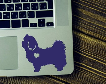 Maltese Sticker Maltese Decal Car sticker Laptop decal Vinyl Decal Sticker