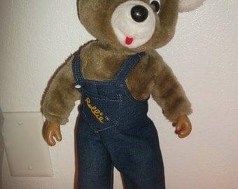 """Vintage """"Rollie"""" The Roller Skating Bear NICE!"""
