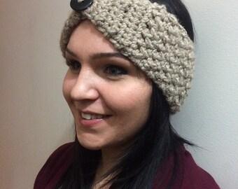 Crocheted Winter Headbands