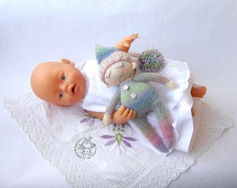 Toy for sleep. Doll for small babies- knitting pattern ...