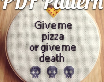 PDF pattern | Pizza or death