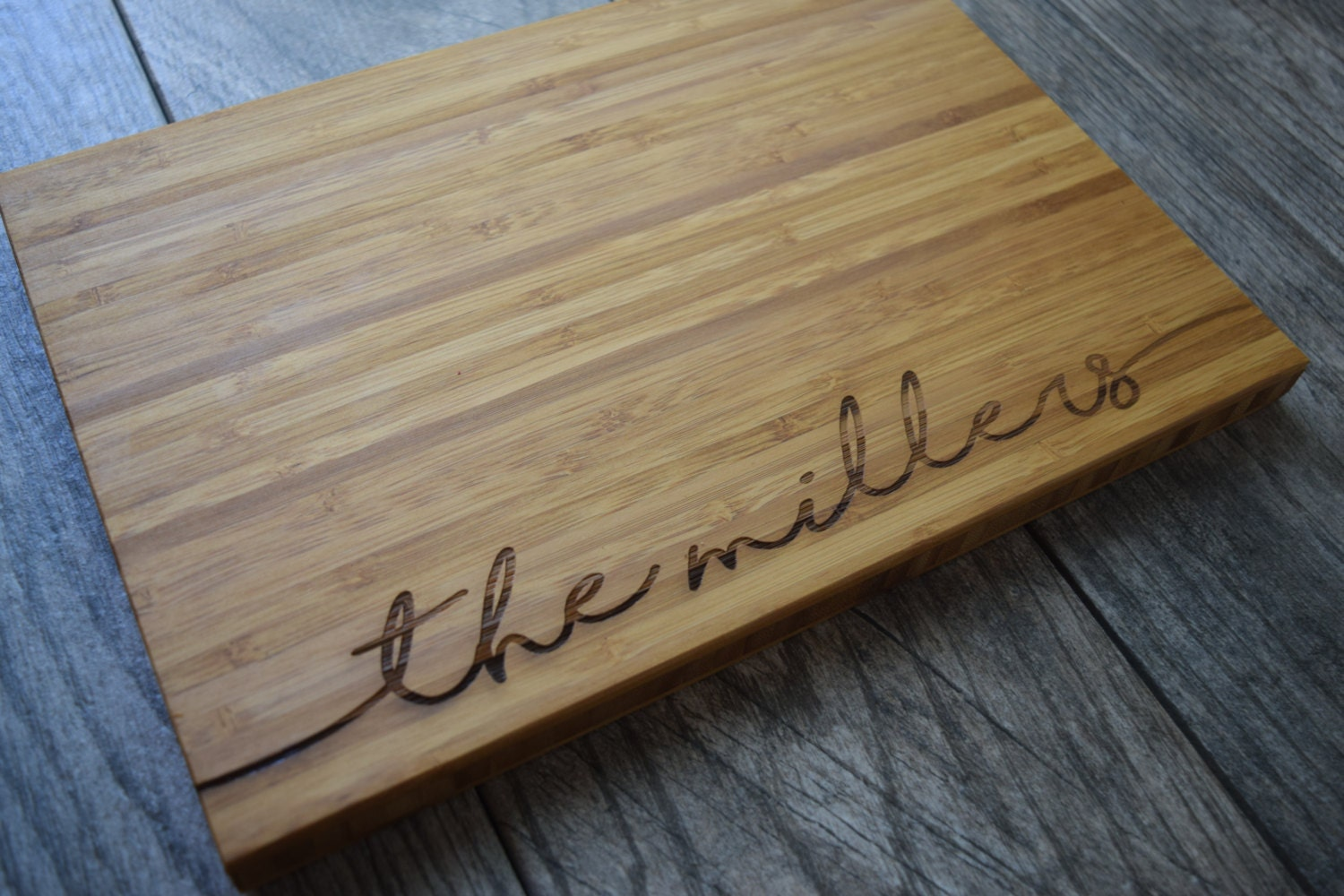 Personalized Cutting Boards ~ Personalized cutting board wedding gift engraved
