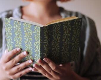 Berries Notebook, Sketchbook, Peach paper