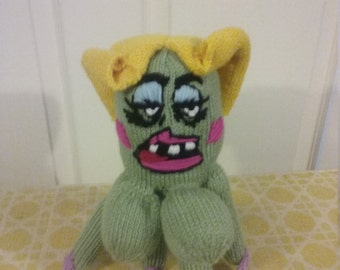 Hand Knit Lil Cuyler Squidbillies Plushie