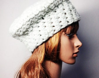 Crochet PATTERN - LEA BERET - Crochet Hat Pattern