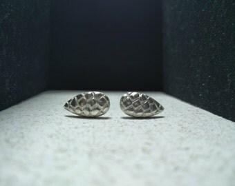 Pine cone earings