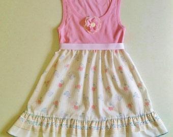 Toddler Dress, Girls Dress, Pillowcase Dress, Ready to Ship, Sundress, Upcycled Dress