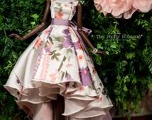 The Peony Blossom 02  - Dress for Fashion Royal FR2 & same size 12'' Fashion Doll