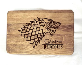 Game of Thrones Gift cutting board Chopping board Christmas Gift Gifts for Dad Gifts for men Valentines gifts for him