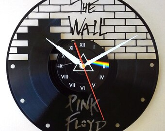 Vinyl wall clock - The Wall