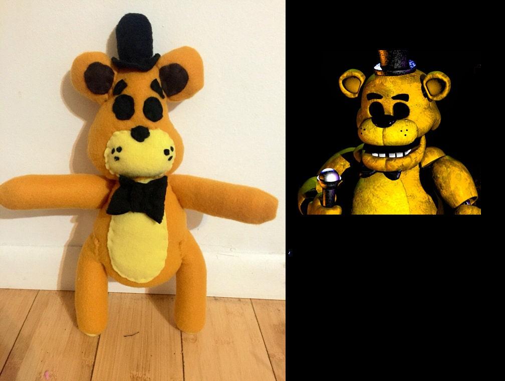 Gold Freddy Toys : Golden freddy five nights at freddys plush toy