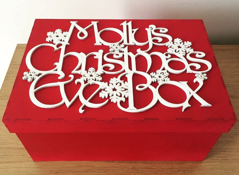 Personalised christmas eve box personalized