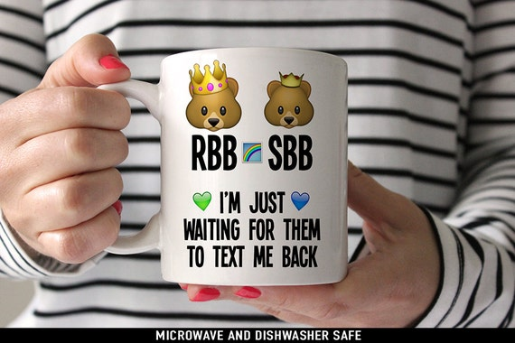 Coffee Mug RBB and SBB Coffee Mug - One Direction Bears Coffee Mug