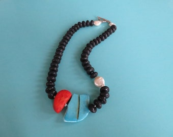 Turquoise Pool Necklace (One Of a Kind!)