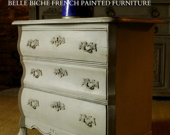 SOLD OUT For Sale Exquisite Original French Oak Bombe Commode Chest