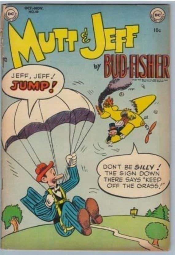 Mutt and Jeff 60 Nov 1952 VG- (3.5)