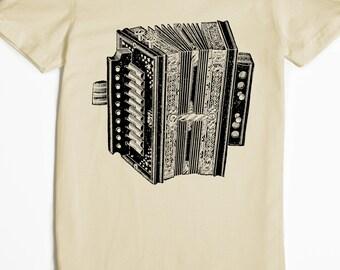 Women's Shirt - Accordion T-shirt - Music Tshirt - Graphic tee - Musician gift