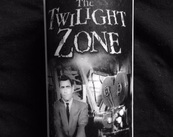The Twilight Zone Rod Serling white unscented Candle