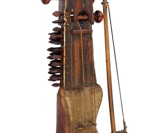 antique orient exotic musical instrument  India afghanistan and pakistan Sarangi Nr-2