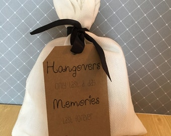 Hangover kit gift tags, 20 Count, Tags ONLY