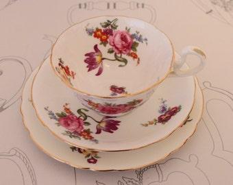Aynsley Tea Cup Trio Cabinet Cup