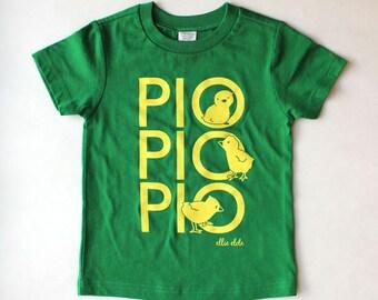 Pio, Pio, Pio (Los Pollitos Dicen) - Spanglish T-shirt