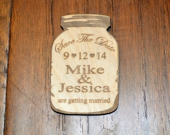 Wedding Save The Date Magnet,  Wood Save The Date Magnet, Save The Date, Personalized Save The Date Magnet, Wedding Invitation