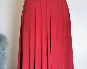 Infinity Multiway Convertible Twist Wrap Dress Bridesmaid Wedding Prom Evening Cherry Red