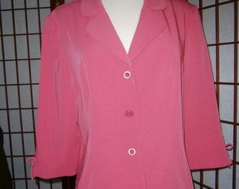 Women's Coral Jacket (For over a dress)