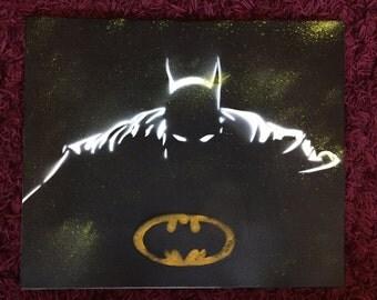 Batman Canvas Acrylic Artistik DC comics DC Comics