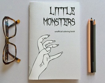 Little Monsters Coloring Book - Lady Gaga