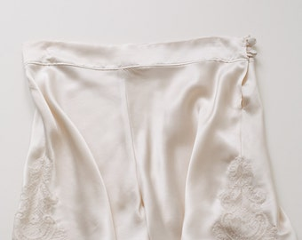 Lucille silk/lace french knickers