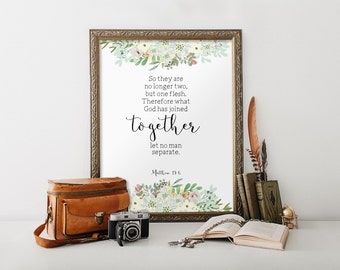 Bible Verses For Wedding Gift Card : printable, Printable verses, Wedding quote from the bible Wedding gift ...