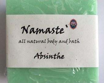 Absinthe Vegan All Skin Types Handmade Soap
