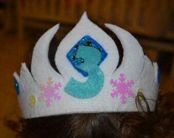 Frozen Birthday Crown
