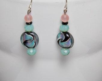 Summer waves earrings-A292