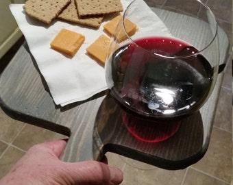 Wine Glass Holder & Tray