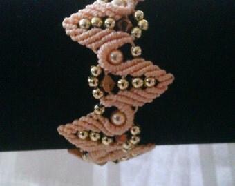 macrame bracelet, macrame jewelry