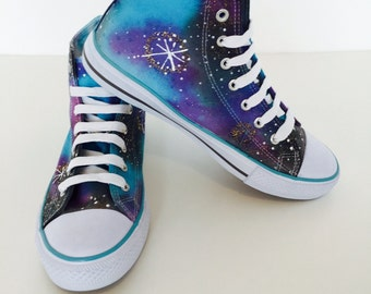 Galaxy lace up boots