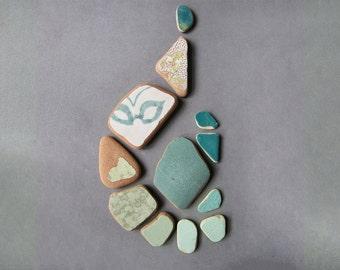Green sea pottery